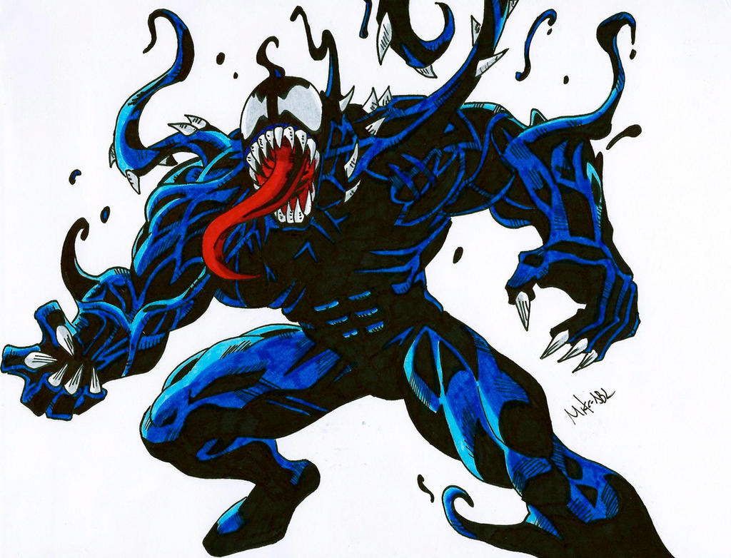Ultimate Venom by MikeES on DeviantArt