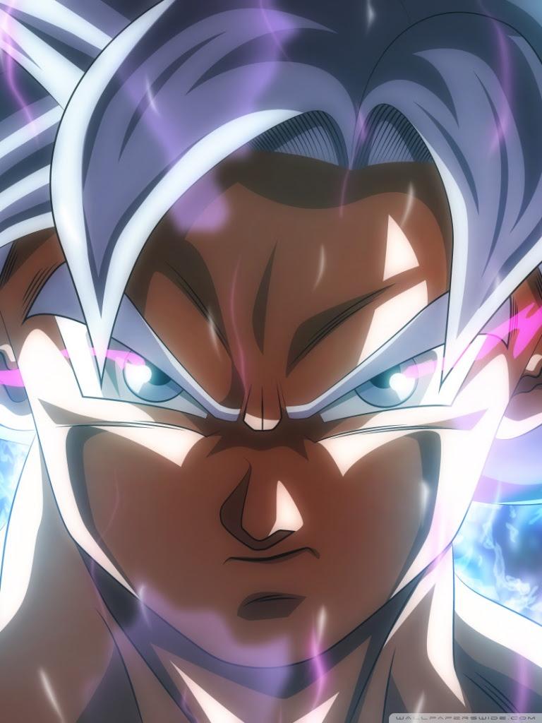 Goku Ultra Instinct Ultra Hd Desktop Background Wallpaper For 4k