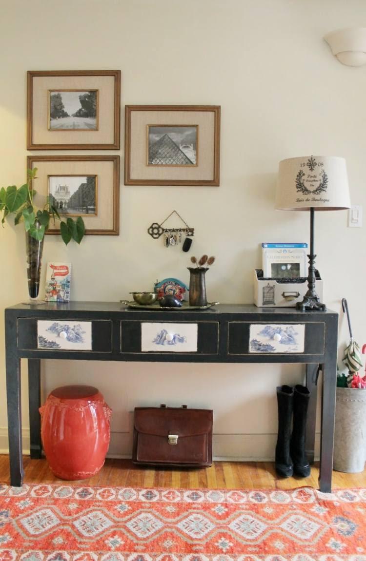 Recibidores con encanto 38 ideas  para decorar