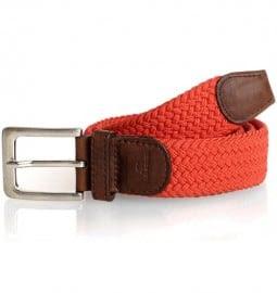 Red Woven Belt Tyler Tyler