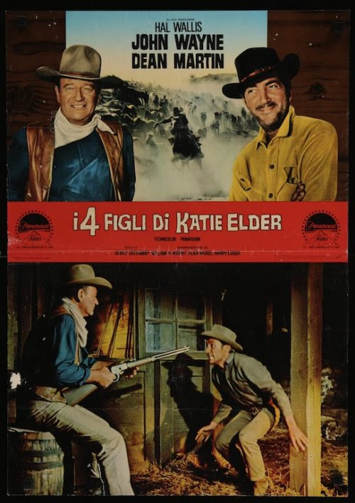 The Sons Of Katie Elder Italian fotobusta movie poster (1965)