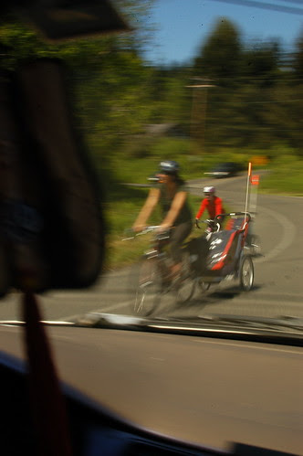 people love to bike on the island
