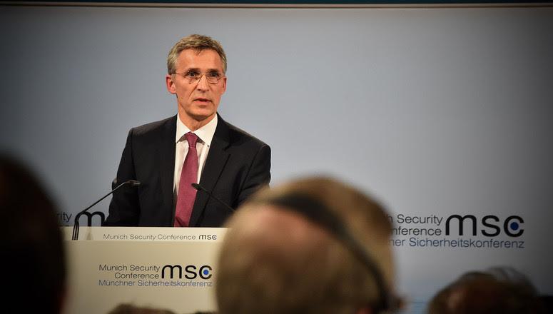 NATO Secretary General Jens Stoltenberg addresses Munich Security Conference