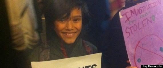Occupy Wall Street Childrens Brigade