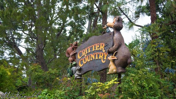 Disneyland Resort, Disneyland, Critter, Country, Sign