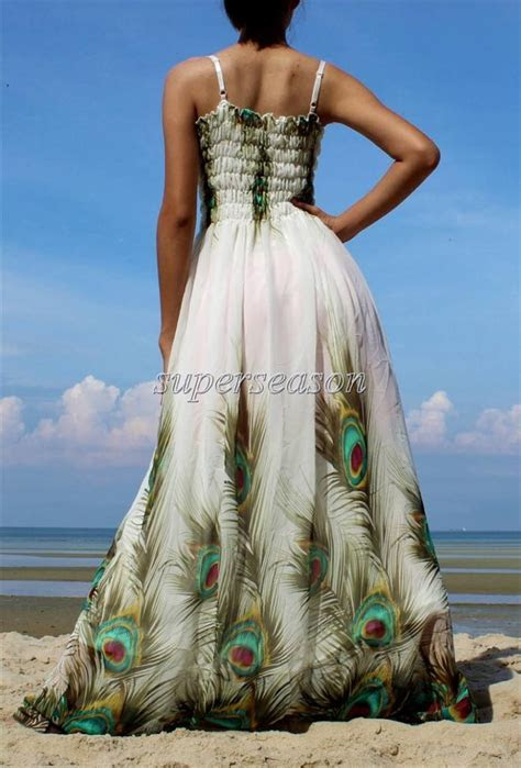 Plus Size Dress Prom Wedding Beach Guest Party Maxi White