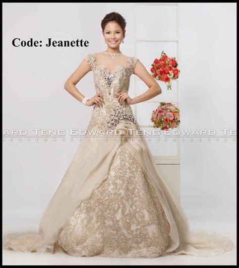 edward teng gown   philippines wedding gown designer