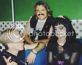 L-R: Jack Pavlik, Wolfgang Busch, and former East German singer Nina Hagen in an udated photo.