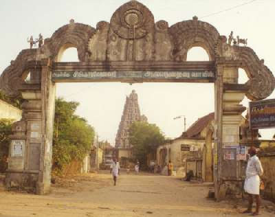 Gate to Sikkal Temple