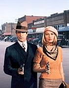 Warren Beatty e Faye Dunaway in «Bonnie & Clyde»