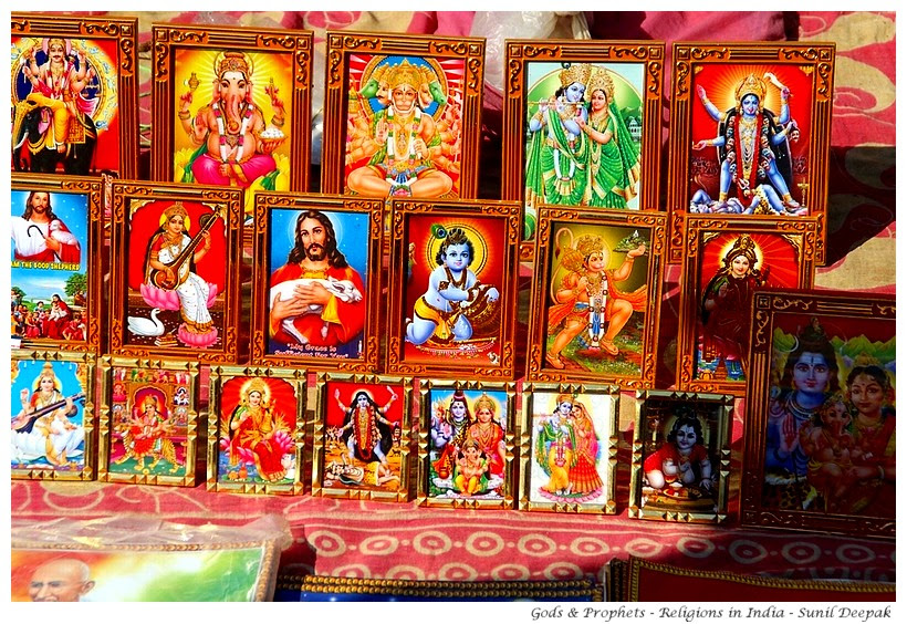 Diversity of religions in India - Images by Sunil Deepak