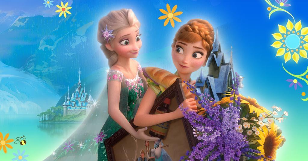Frozen Wallpaper Elsa And Anna - New