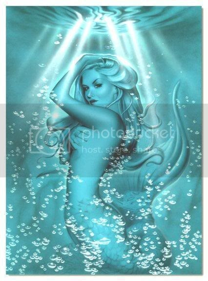 women mermaid Graphics Myspace