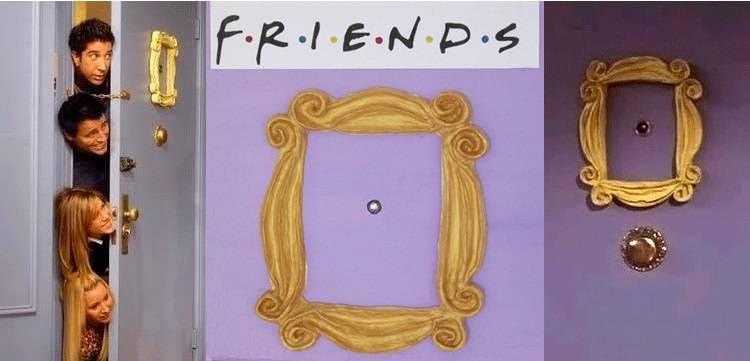 Serie Friends Frame Monicas Door Peephole Buy Yours Here