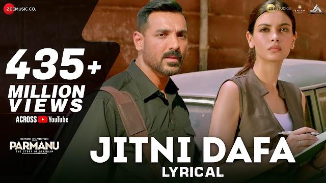 Jitni dafa dekhu tujhe lyrics - Yasser Desai & jeet gannguli Lyrics | lyrics for romantic song
