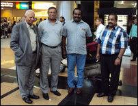 TNA delegation in South Africa