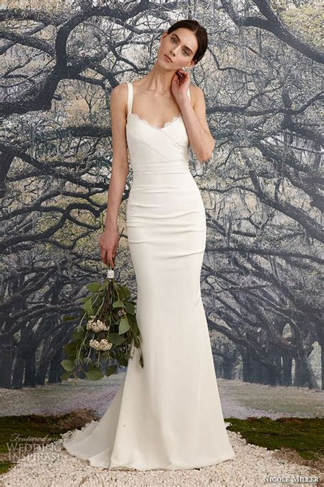 Nicole Miller Bridal Spring 2016 Wedding Dresses in 2019