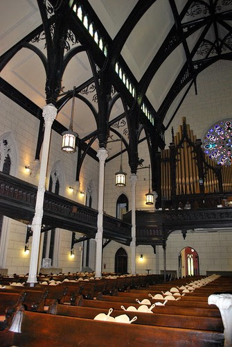 Interior of the Mount Vernon Place United Methodist Church