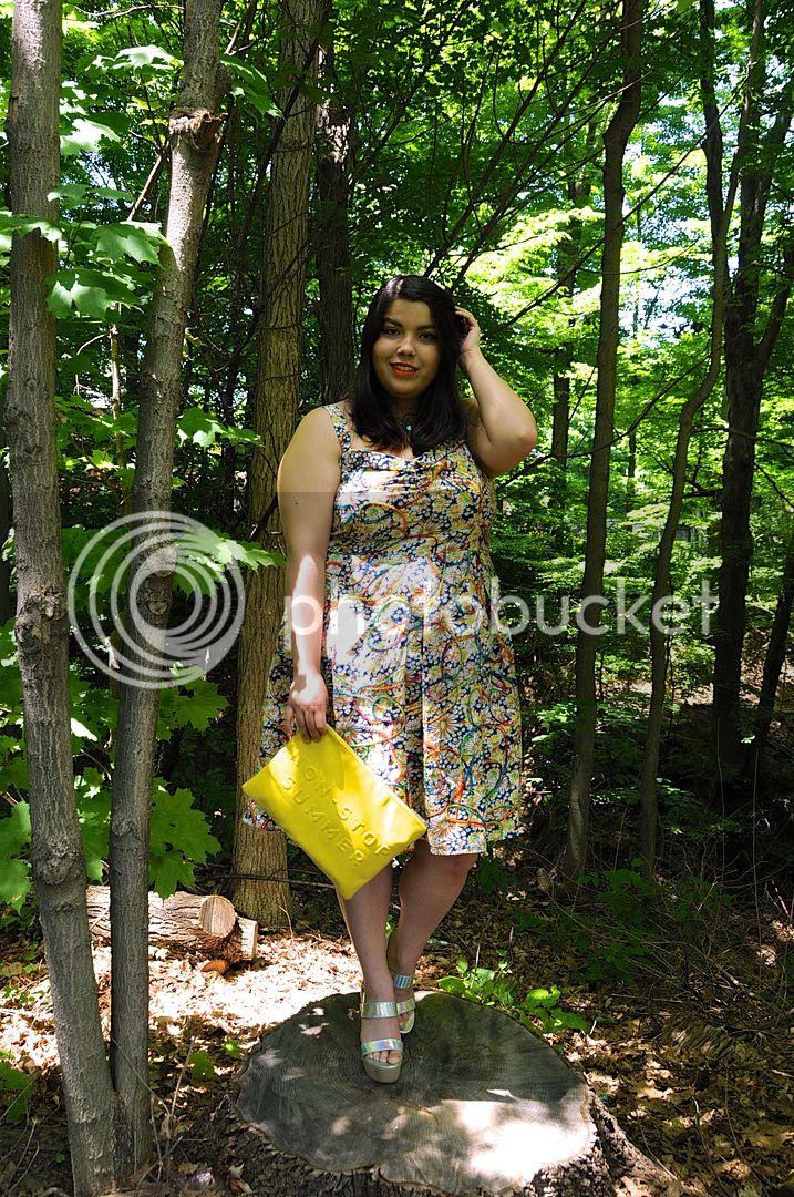 plus size fashion plus size dresses summer 2015 yarn dress tatyana boutique fashion summer plus size canada toronto colourful