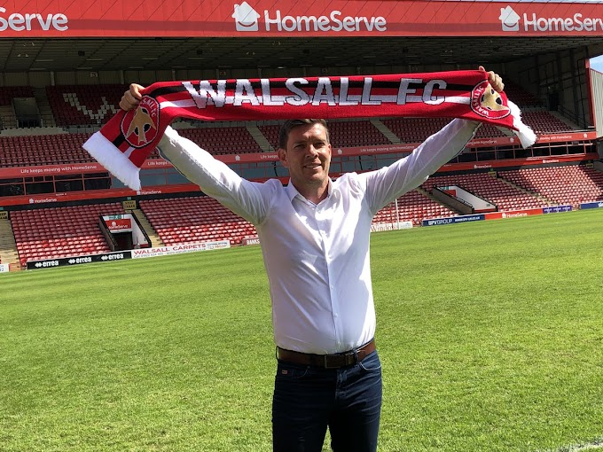 Darrell Clarke Keen to Build a Rapport With the Walsall Faithful