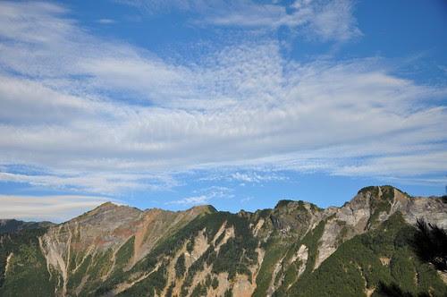 關山大崩壁觀景台的景色