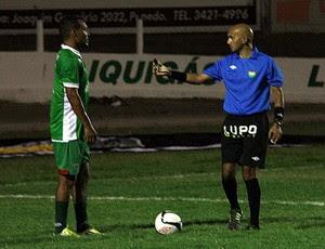 Lenilson de Lima, árbitro potiguar (Foto: Gabriel Peres/Divulgação)