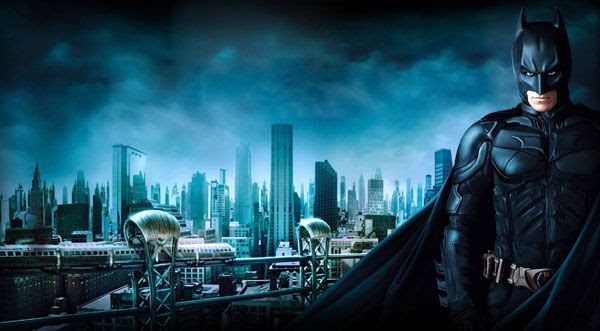 THE DARK KNIGHT Trilogy artwork.