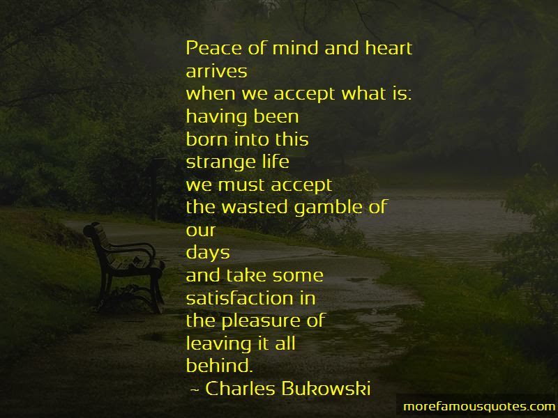 Quotes About Peace Of Mind And Heart Top 36 Peace Of Mind And Heart