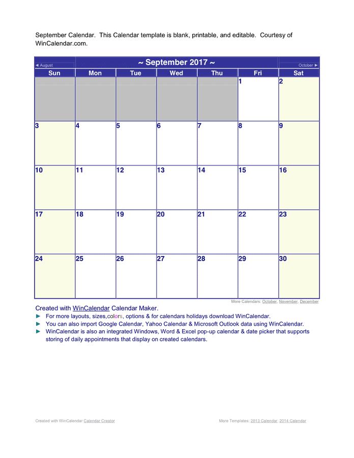 Calendar C reator More Templates: 2 013 Calendar, 2 014 Calendar