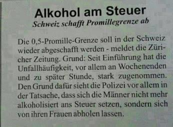 Alkohol Am Steuer Gute Witze Zum Totlachen Lustige Witze Und