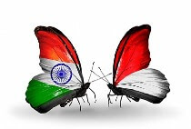 India Indonesia Butterfly Flags Creative