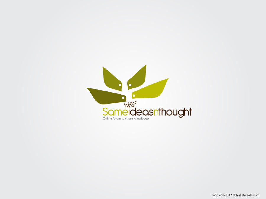 forum logo design concept by abhijitshirsath on DeviantArt