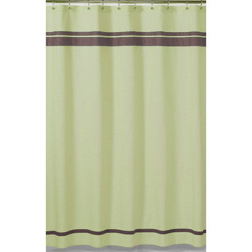Green and Brown Hotel Shower Curtain by JoJo Designs | $39.99