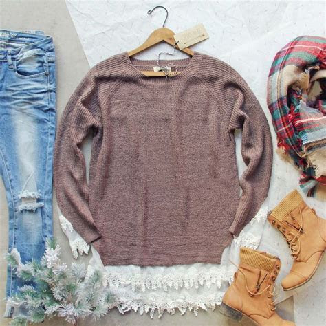 25  Best Ideas about Lace Sweater on Pinterest   Fall