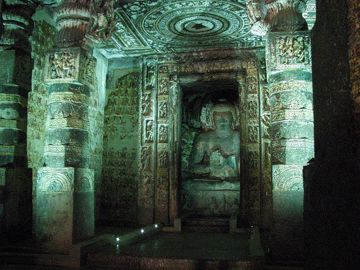 photos of ajanta caves