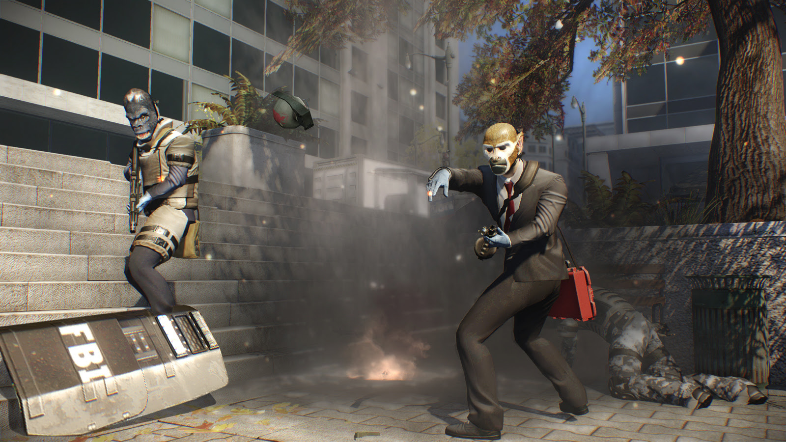 Payday 2 is free to own on Steam right now screenshot