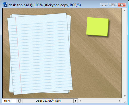 Creating a Desk-Top Composition image 13
