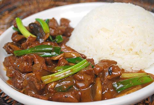 Beef & Mushroom Stir Fry
