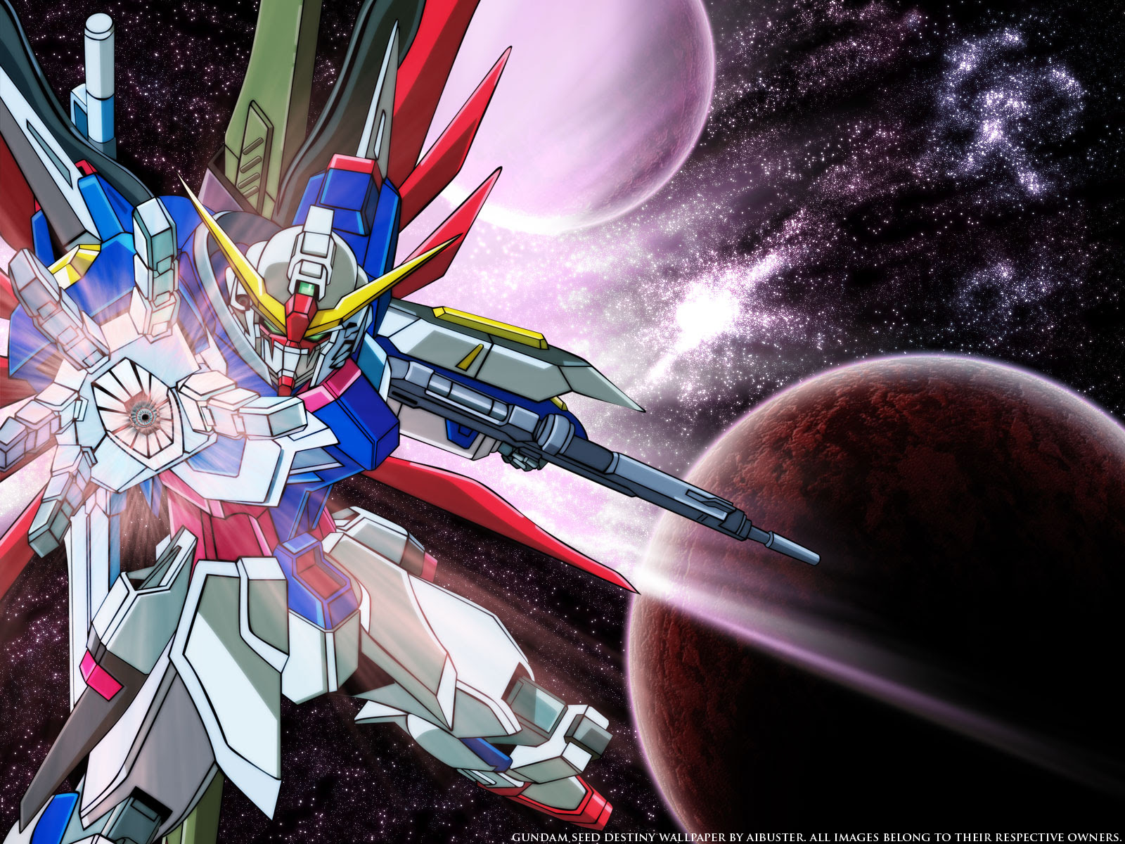 Mobile Suit Gundam Seed Destiny Wallpaper Hand Of God Minitokyo