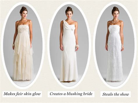 White wedding dress versus ivory   Women's style