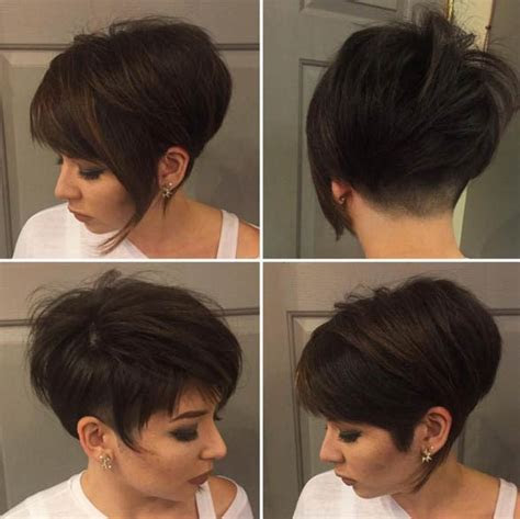asymmetrical short pixie haircuts love  sayings