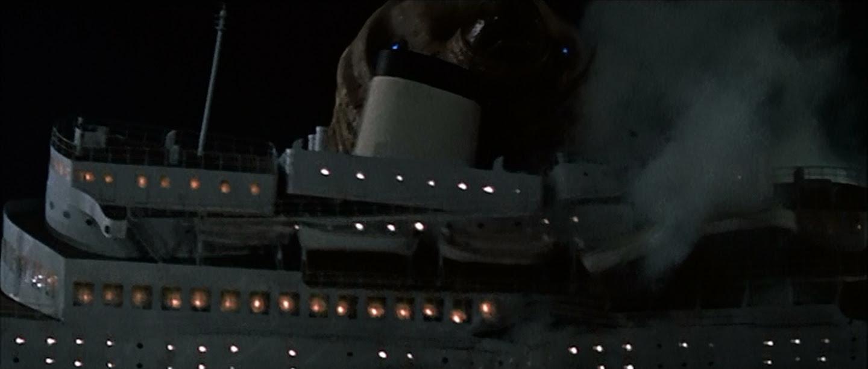 Mothra smashes a ship!