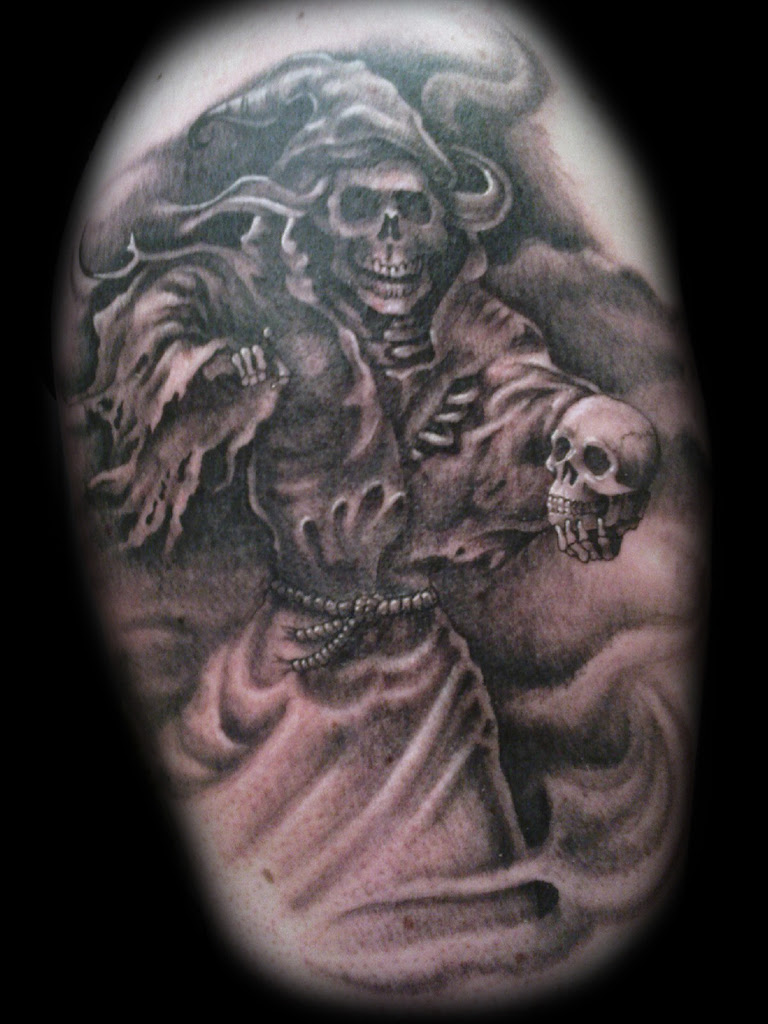 The Design Free Tattoo Designs Grim Reaper