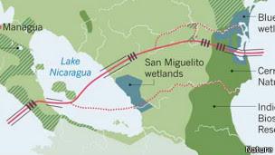 Mapa canal