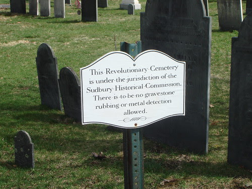 This Revolutionary War Cemetery by midgefrazel