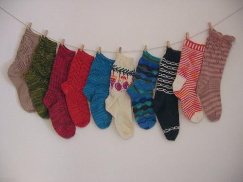 Singleton Socks of Shame, 2010