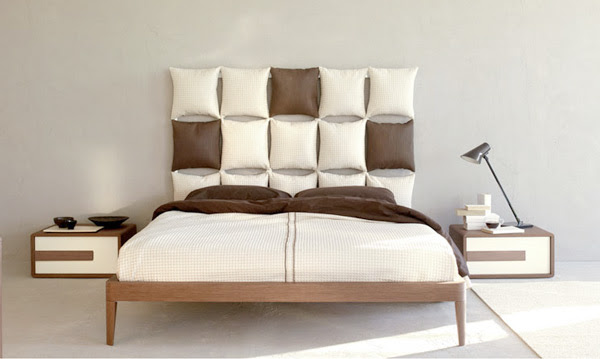 Pillow Headboard Ideas | Modern Interiors