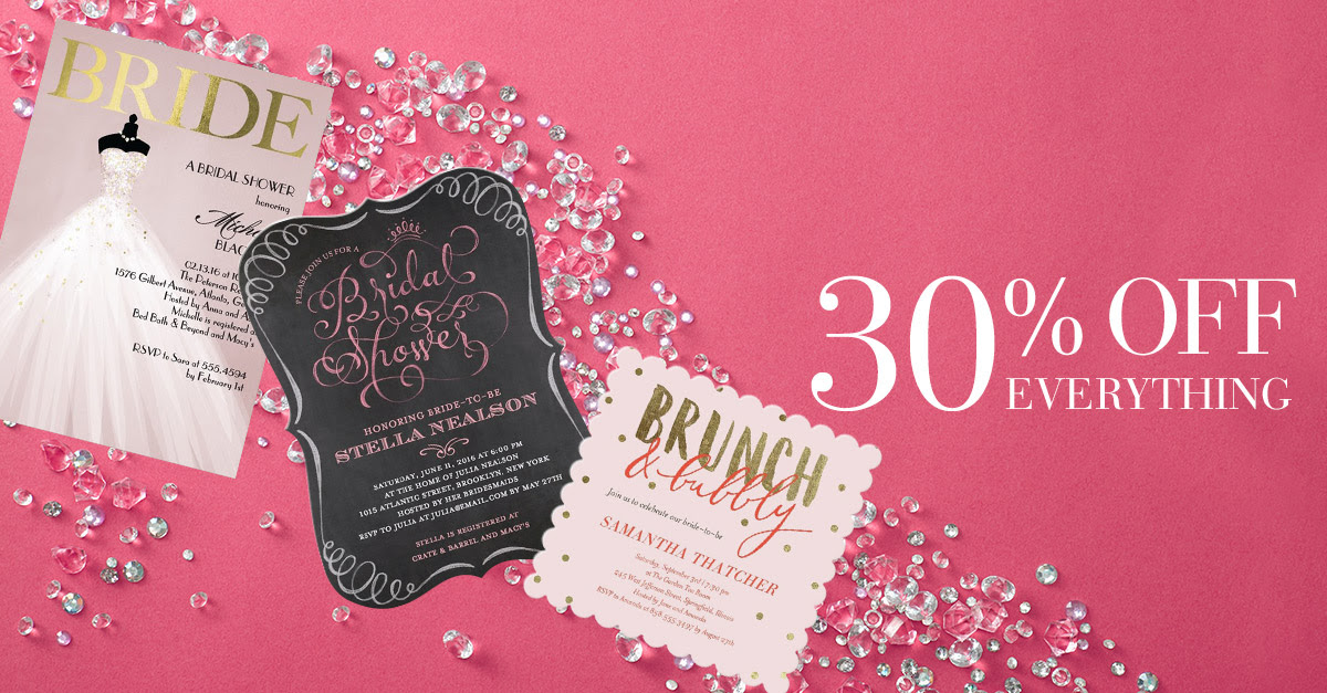 Wedding Paper Divas - Anniversary Sale