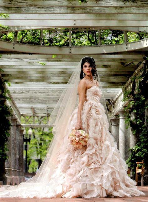 Gorgeous Champagne Wedding Dress   I Heart Wedding Dresses