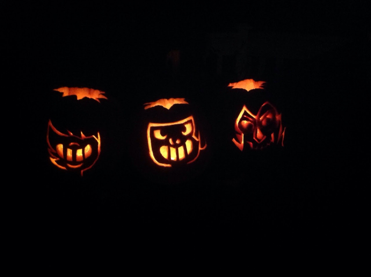 My pumpkins this year